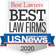 Best Law Firms 2020 badge